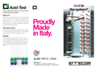 Brochure EN: No-Acid and Acid-Test