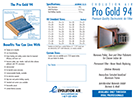 Evolution Air Pro Gold 94 Electrostatic Air Filter Brochure