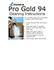 Evolution Air Pro Gold 94 Electrostatic Air Filter Cleaning Instructions