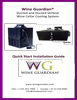 Wine Guardian Ducted System Quick Start Guide