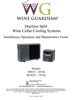 Wine Guardian Ductless Split System Installation and Operation Manual