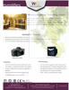 Wine Guardian Humidifier Brochure